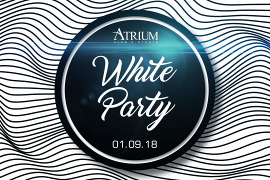 White Party le Samedi  1ER Septembre 2018